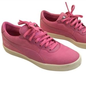 Alexander McQueen for Puma, leather sneakers